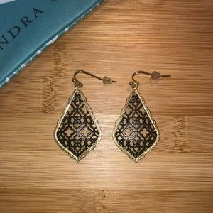 Kendra Scott filigree Addie earrings